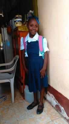 Guerna today - attending school!
