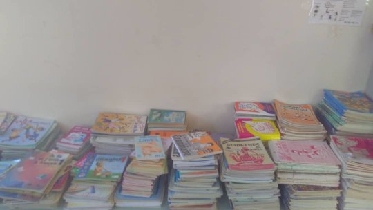 School books ready for distribution