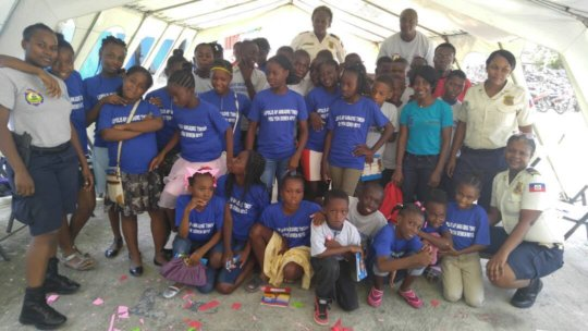 First ever - Haiti Police Summer Camp!