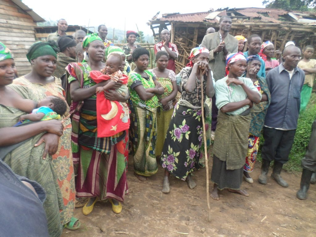 Widows Women beneficiaries of Katsiru Centre