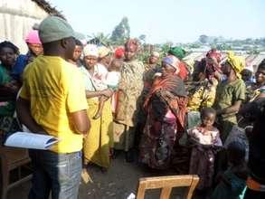 Awareness session for widows women