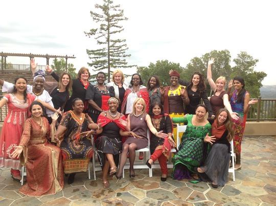GWNL 2015 Class-Grace in Yellow African Dress