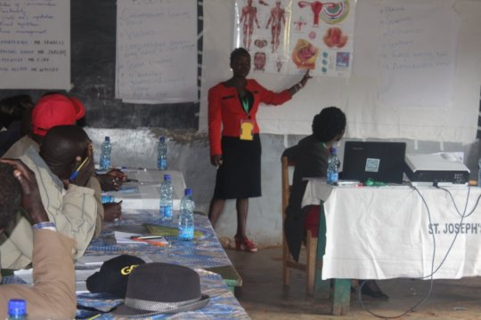 HFAW Facilitator,Leah,illustrating effects of FGM