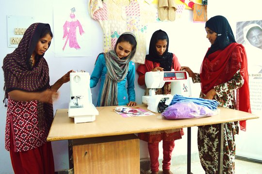 Tailoring Training for 50 Muslim Women in India