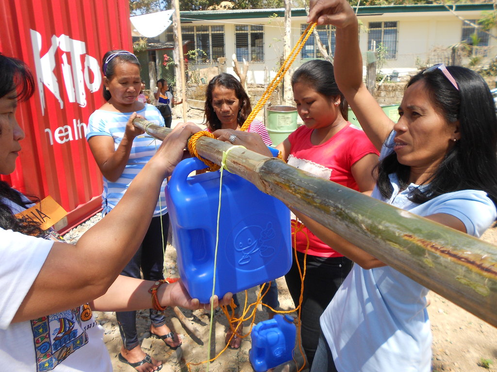 Donate a Health-Center to the Philippines