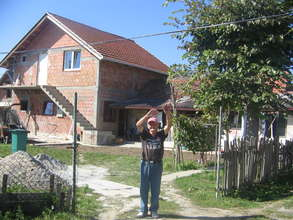 One of the houses in Obrenovac