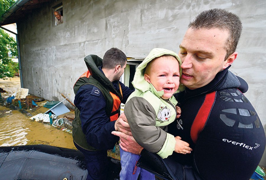 FLOOD RELIEF APPEAL FOR SERBIA