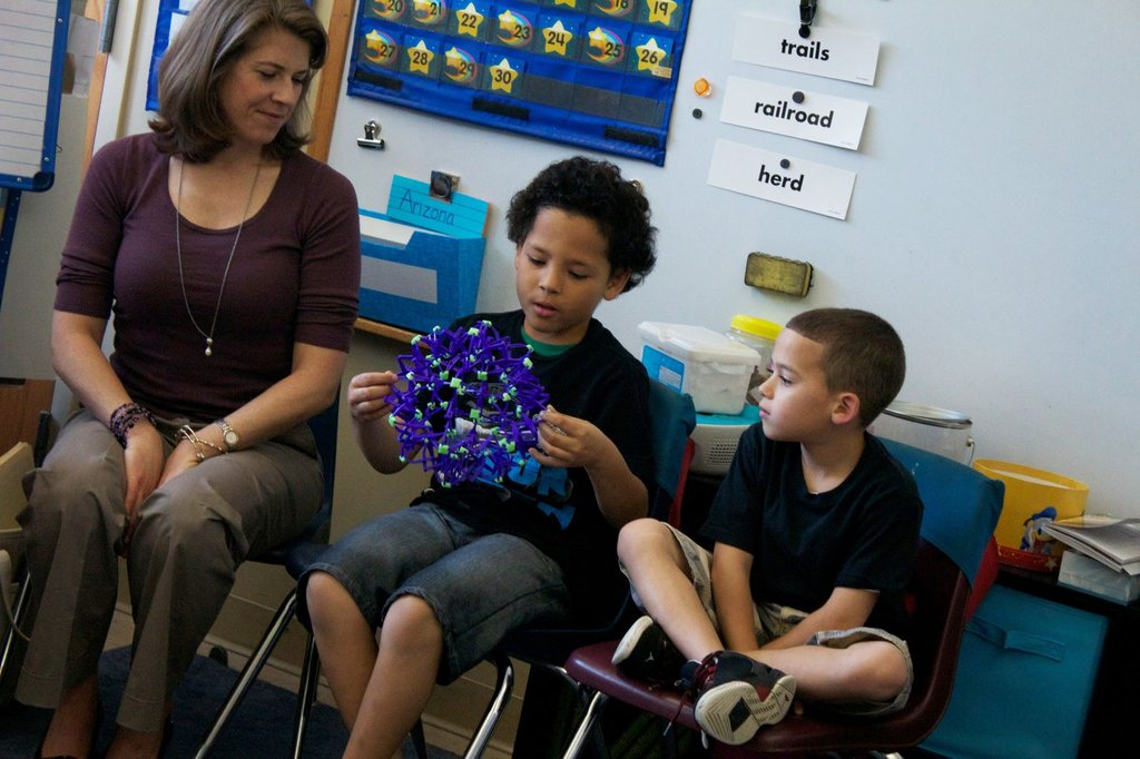 Stress reduction in 2 high-need classrooms in RI