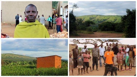 Protect a village of 155 households from erosion