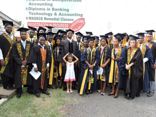 Matriculation Ceremony, Students and Staff