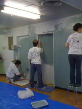 Renovating a playroom at a group home