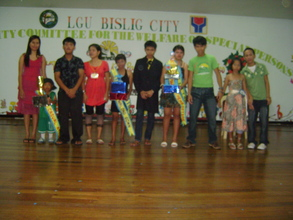 Our Special Children Winners during our Talent's Night Activity