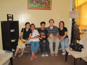 Alvin with Jenyveve, Fe, Bill and Elsie