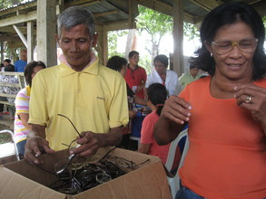 GIVING OF FREE READING EYEGLASSES TO INDIGENT INDIVIDUALS