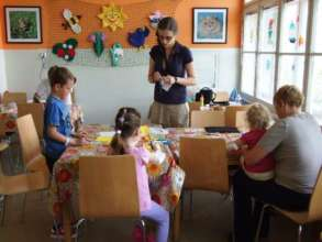 Children workshop in hospital