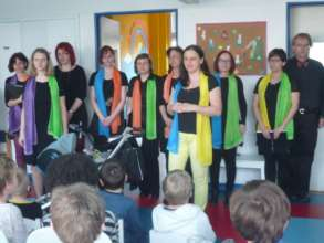 Gabriel choir at Children Psychiatry