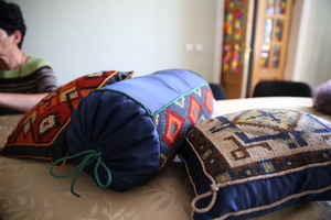 Residents' handicrafts
