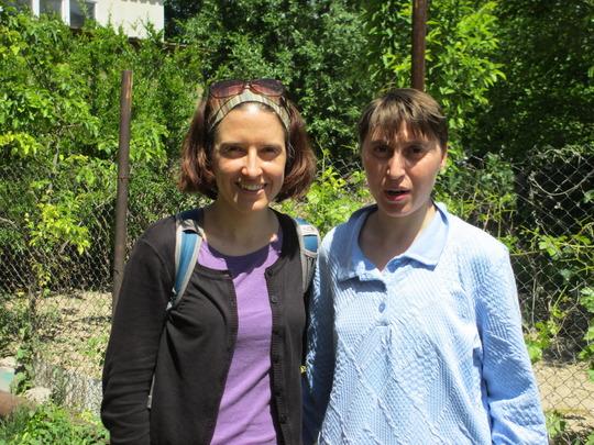 Heather with Susanna (Warm Hearth resident)