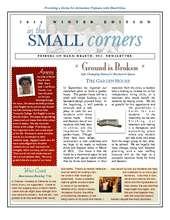 Winter Newsletter 2011 (PDF)