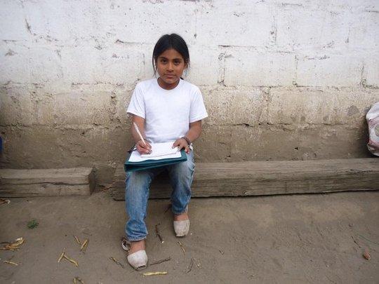 Kevin - Grateful Student from San Pedro Peru