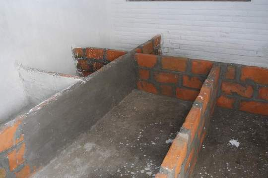 Starting construction of Guinea pig pens
