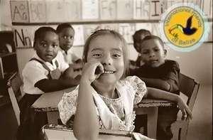 Belize school girl