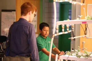 Ibraheem shares his hydroponic farming expertise