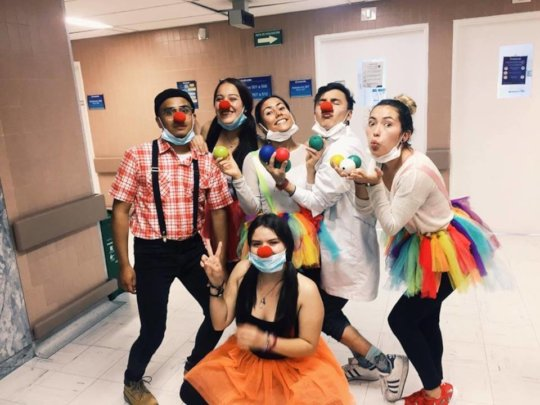 The circus team
