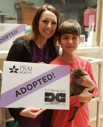 Peanut Gets Adopted!