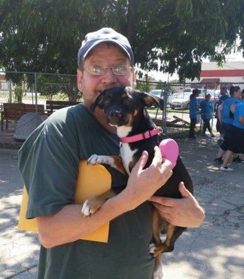 First Dog Adoption