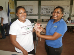 Excitement about the micro-credit program!