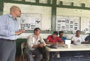 Peace Corps Volunteer Michael Canos explains MC