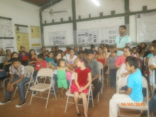 Hands-on training for 100 families in Nicaragua