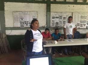 Micro-Credit Officer Yolanda Fletes Rosales