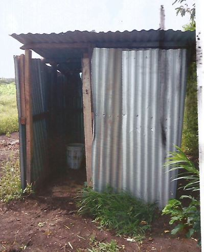 Boys toilet currently being used