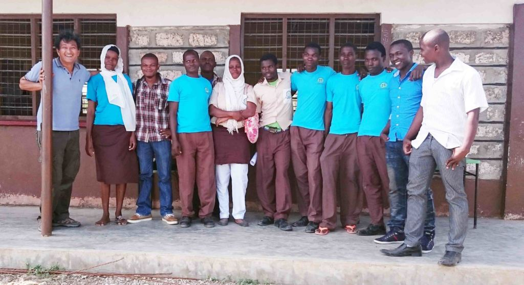 TRLF Staff with students
