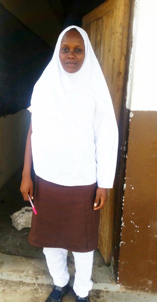 Mwanajuma a Form 1 student