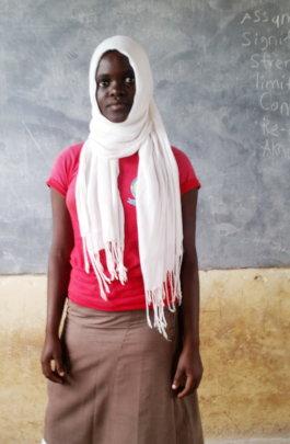 Riadha a Form 3 Student
