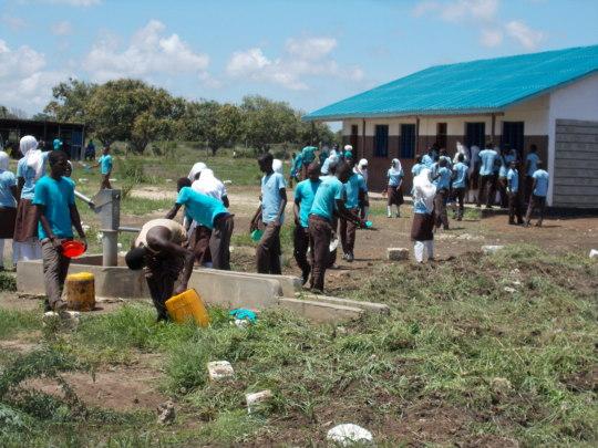 Students at Buyani Secondary