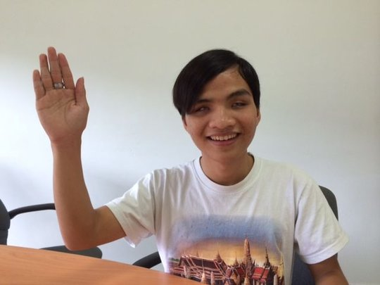 Vinh dreams of access for all visually impaired!