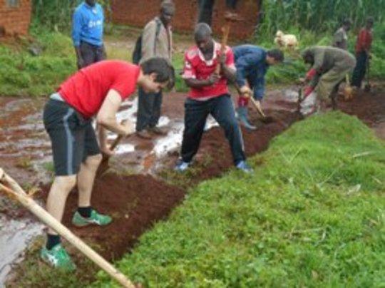 community work with volunteers