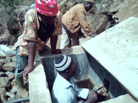 construction of the new catchment