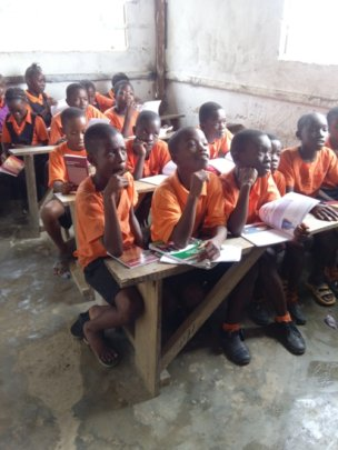 Provide Textbooks for Liberian Children
