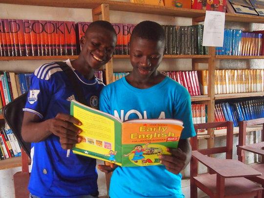 Provide Textbooks for Liberian Children