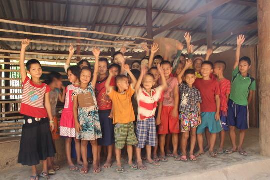 Children from Maw Kwee