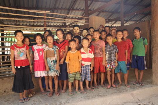 Solar Power For 115 School Children From Burma
