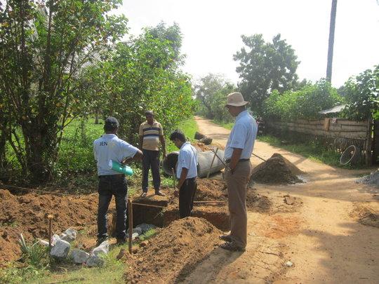 Construction of culvert