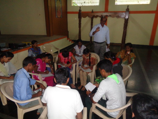 Student Activity during the Training sessionj