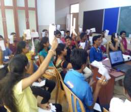 Students in the Skill Training Session