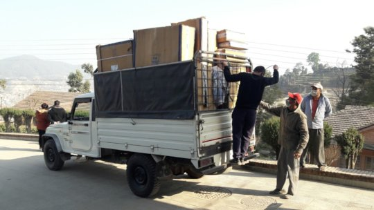 USAID/ASHA-funded equipment, delivered!